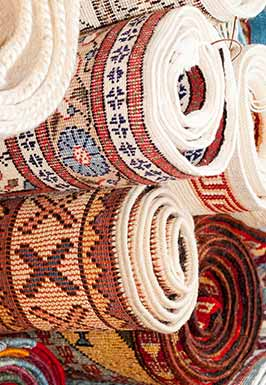 Wash valuable carpets