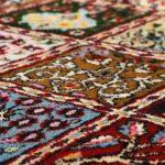 Handmade carpet map
