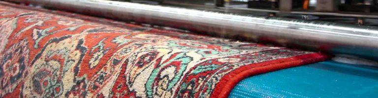 تأثیر بافت و رنگ فرش در شستشوی فرش
