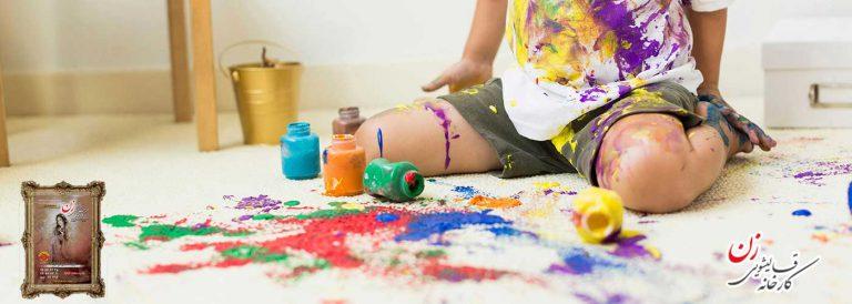 چه زمانی رنگ برداری از فرش در قالیشویی انجام میشود